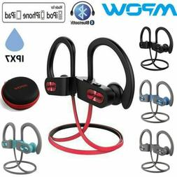 MPOW IPX7 Bluetooth Sports Headphones Wireless Noise Cancell