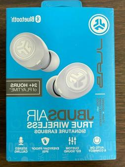 JLab Audio - JBuds Air True Wireless Earbud Headphones - Whi