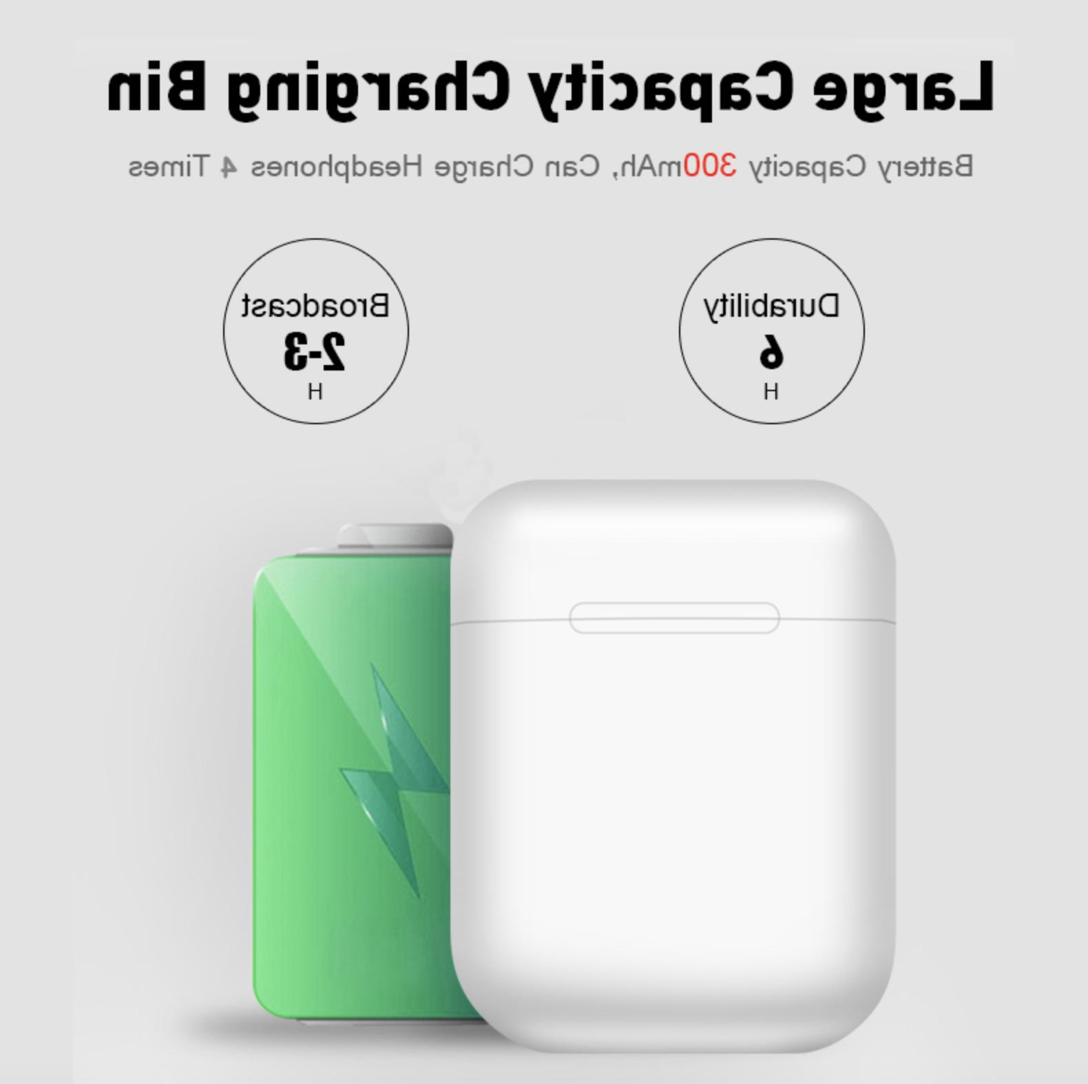 Wireless Earbuds Compatible Apple AirPods 2 iPad