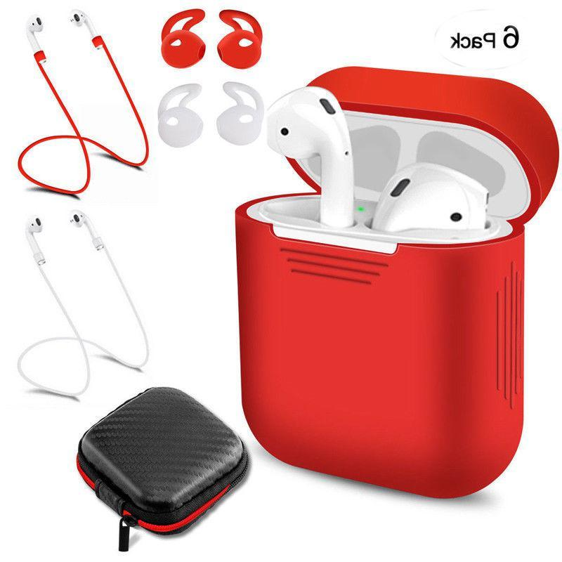 Ostart Silicone <font><b>Bluetooth</b></font> Earphones For Airpods Apple TWS Protective