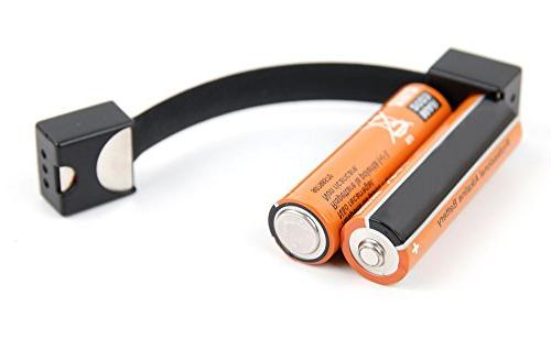 portable keyring battery charger