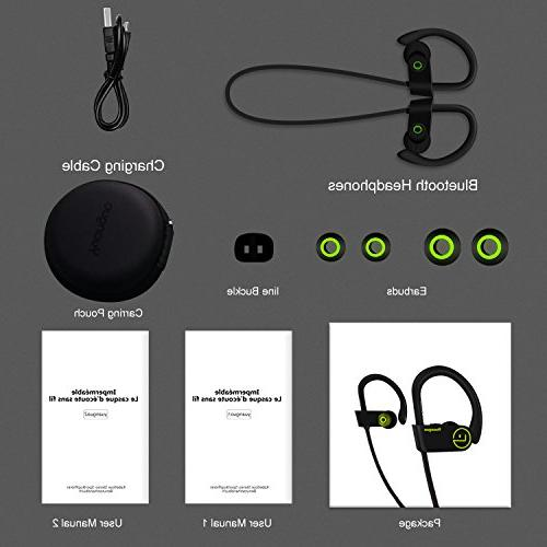 Bluetooth Headphones with Stereo Fit Noise Earbuds for