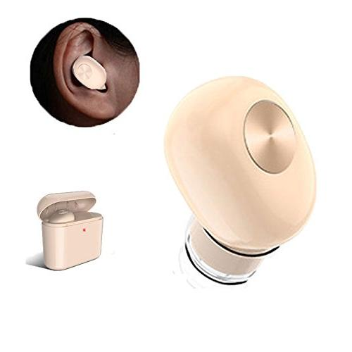 KOBWA Mini Wireless Earbuds Invisible Headset, Upgraded Vers