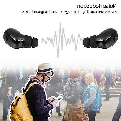 Mini Wireless Stereo Waterproof Headset Earphone Earbud