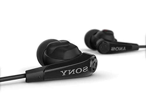 Original Black Sony Noise Headset MDR-NC31EM for Xperia