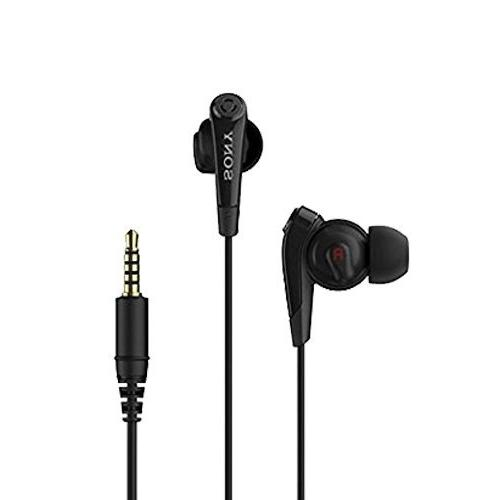 Original Black Sony Digital Noise Cancelling Headset Earphon