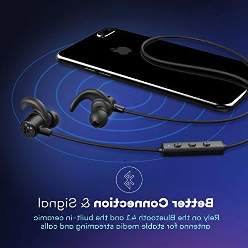 Wireless in Ear Sports Earphones Built Mic