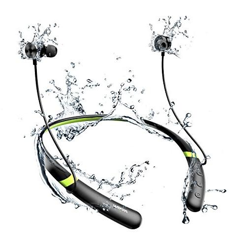 Mpow Bluetooth V4.2 Bluetooth Neckband Sports Headphones, Earbuds