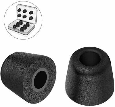 Brand New Zotech 10 Pair Medium Size Silicone Replacement Earbud Tips Black