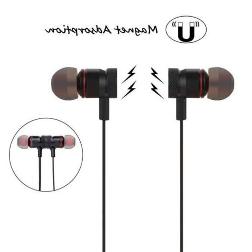 Bluetooth Magnetic Gym Headset