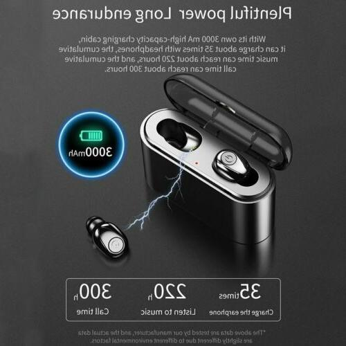 Waterproof Bluetooth Earbuds Headphones Wireless Headset