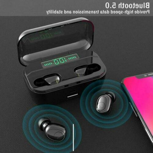 Bluetooth Wireless Twins Headset Stereo Headphones