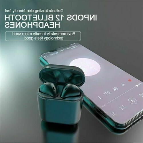 🌟 Bluetooth 5.0 Wireless Earbuds Touch Control