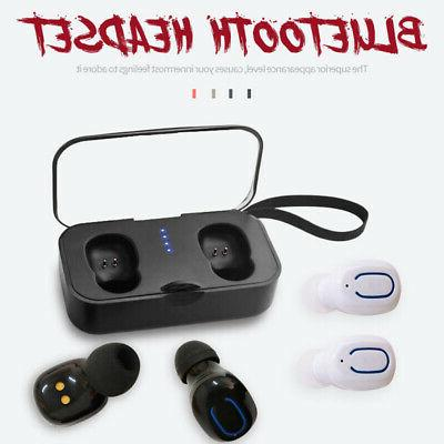 Bluetooth 5.0 Wireless Twins Earbuds Stereo
