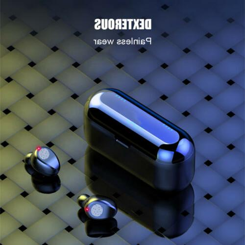 Bluetooth 5.0 Headset Wireless Earbuds Stereo