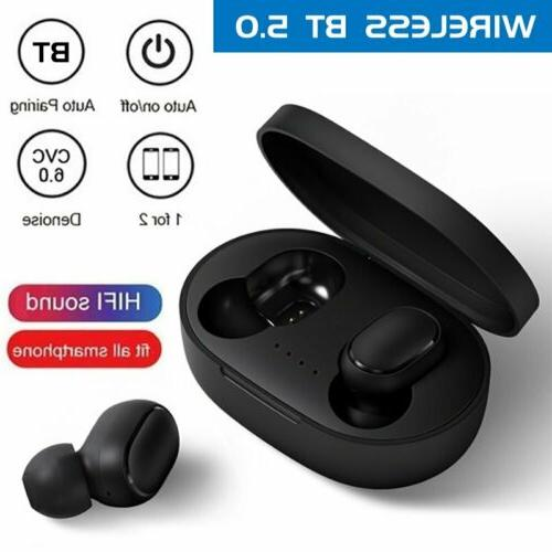 Bluetooth True Wireless Earbuds Headsets Cancelling Headphones