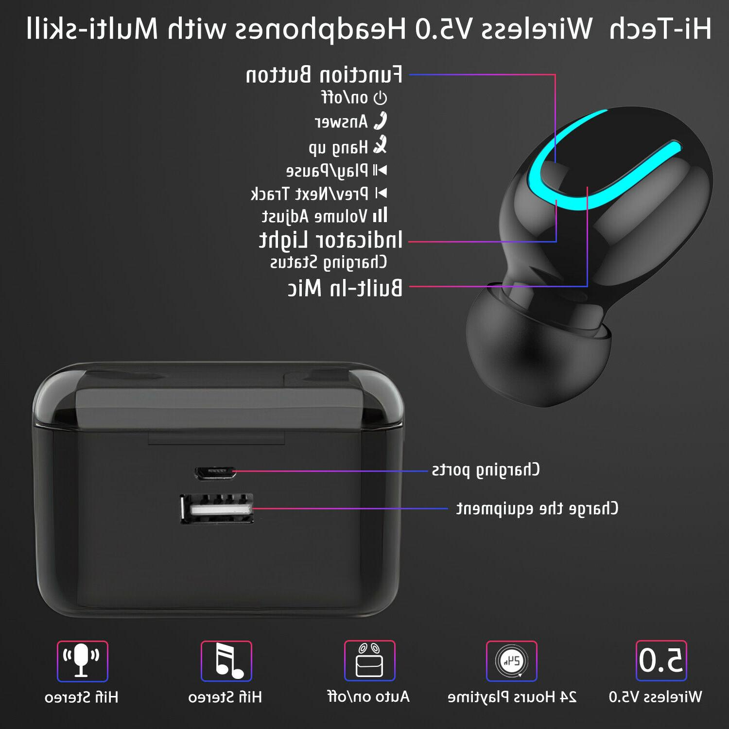 For Samsung Note 10 Wireless Headphone