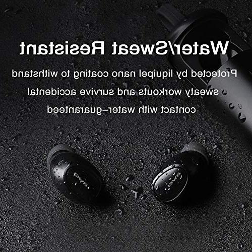 Bluetooth AWEI Wireless Headphones 20H Deep Stereo Sound, Earphones with Charging