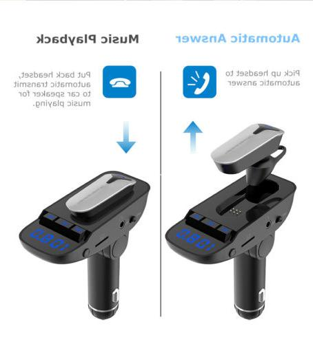 Handsfree Transmitter Player with Mini earbuds