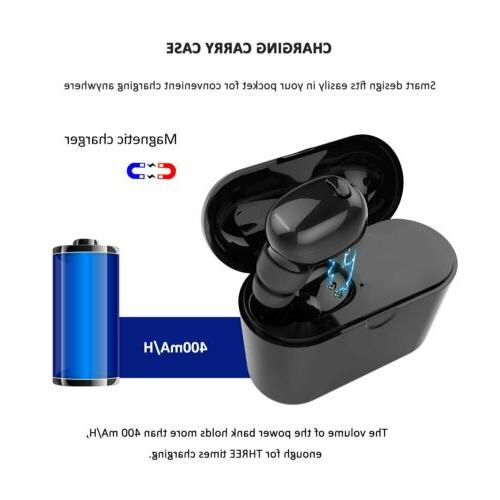 Bluetooth Invisible Wireless with Charging Case