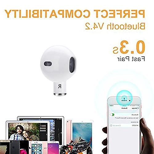 Single Wireless Invisible with 4 Hour with and Android
