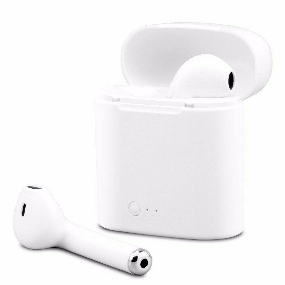 Bluetooth Earbuds Airpods Wireless Mini in Ear w/Charging Case
