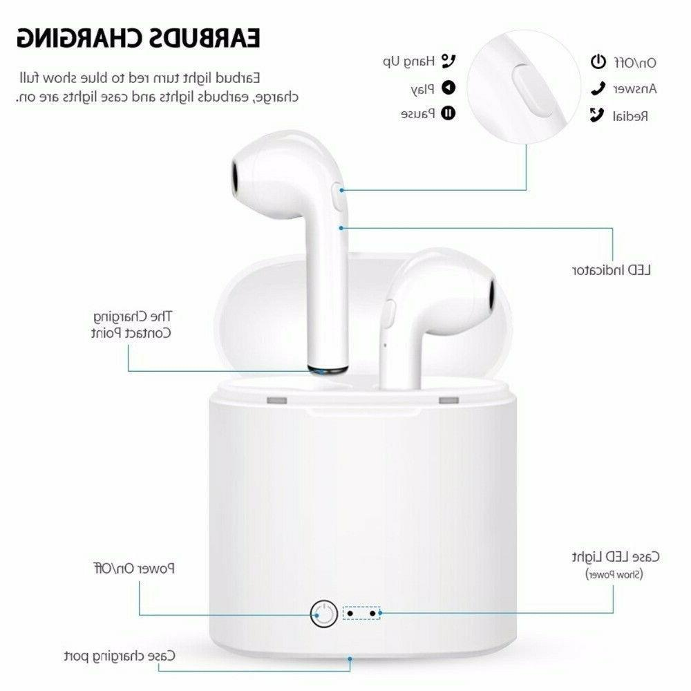 bluetooth earbuds airpods style wireless earbuds mini