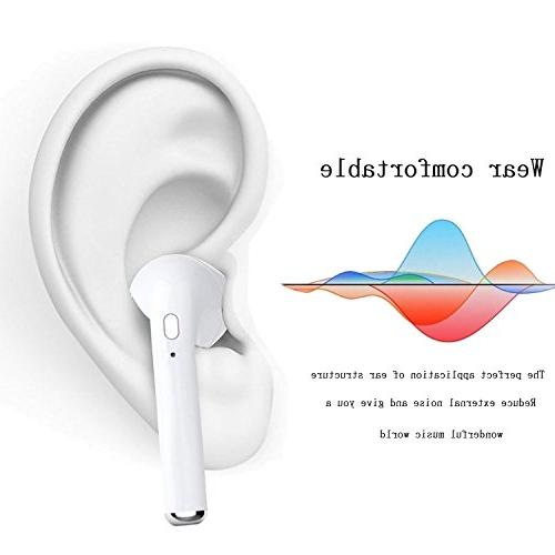Bluetooth Earpieces Earphones V4.2 Stereo & Charging