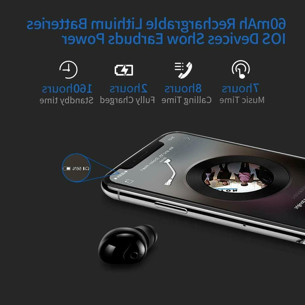 Bluetooth Mini Invisible Earpiece with Hands