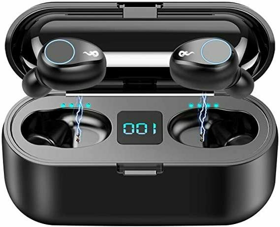 Bluetooth earbuds wireless 5.0 iPhone Android sport Headphon