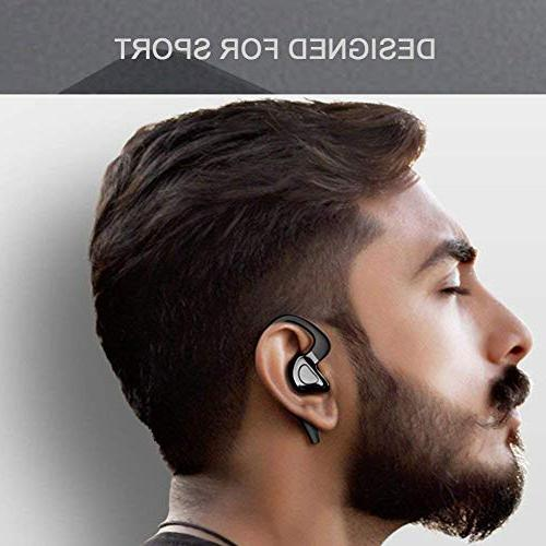 ZBHW Bluetooth Headphones Sport CVC with Strong Stereo and built-in