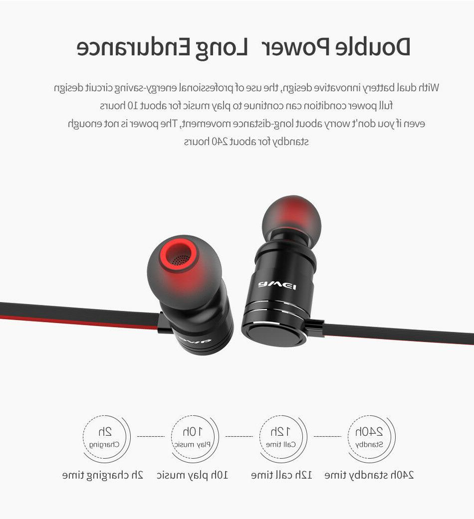 AWEI Stereo Earphones Sport Headphones