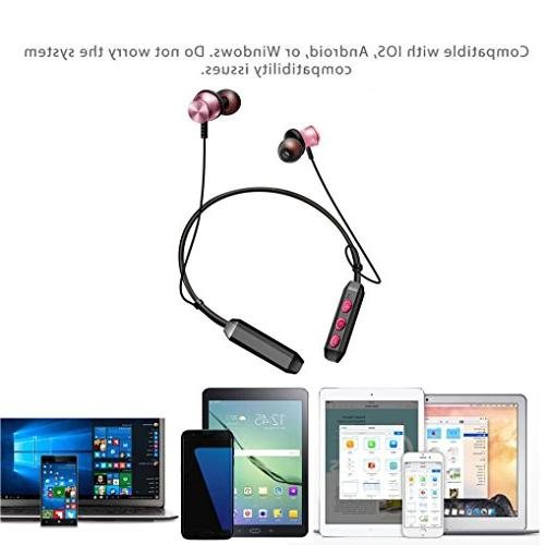Bluetooth Earphone, Stereo for Gym Running,Working,Driving