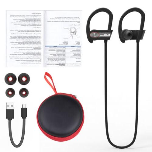 Bluetooth Earphone Stereo Earbuds In-Ear