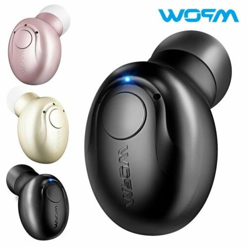 bluetooth headphone wireless mini invisible earpiece in