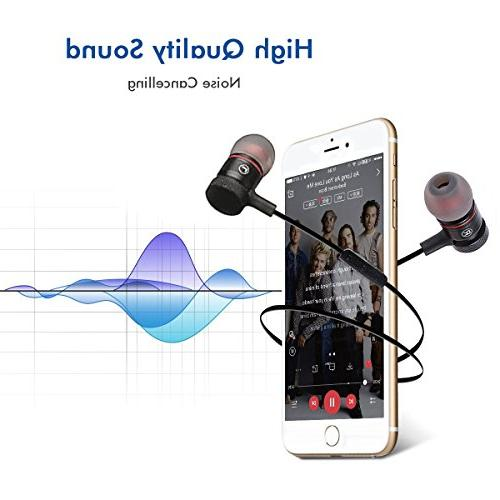 Bluetooth Headphones, with Cancelling Bluetooth Earbuds S8