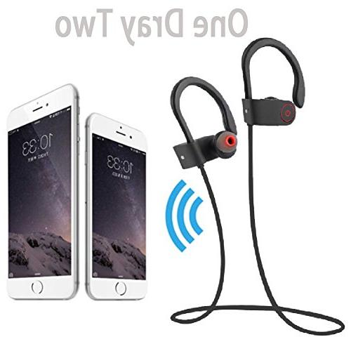 Bluetooth Headphones,Wireless headsets, U8 best Bluetooth 4.1 IPX7 definition stereo
