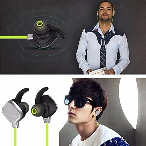 KOBWA Bluetooth Headphones, Magnetic Sound & Sweatproof CVC Cancelling NFC Headset & Android