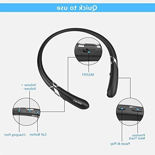 Earbuds Neckband Mic