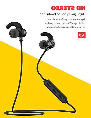 Boxgear Huawei Ascend Bluetooth Headset in-Ear Earbuds IPX4 Waterproof Mic Stereo 6.0 Cancellation, with, Samsung,Google Pixel,LG