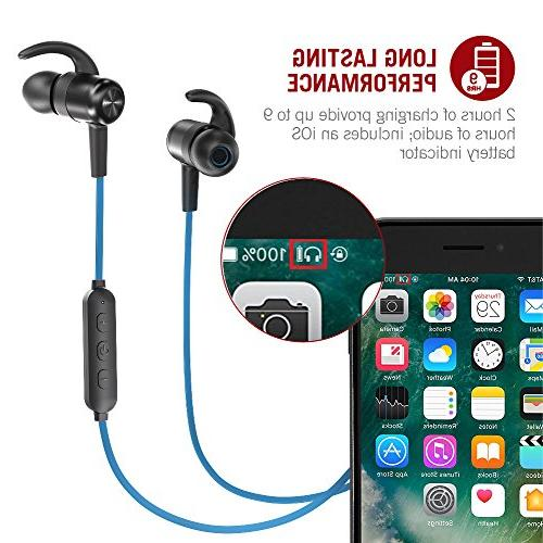 Earbuds Hours 4.2 Magnetic Lightweight &