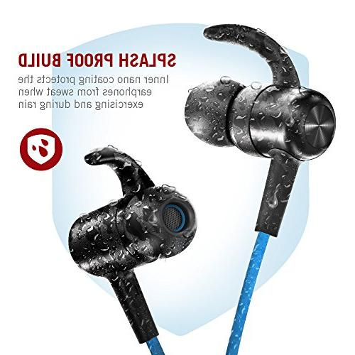 TaoTronics Wireless Earbuds Earphones 9 Hours 4.2 Magnetic & Fast
