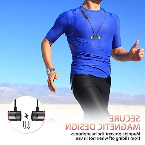 Bluetooth Headphones,AFONE Wireless Magnetic Bluetooth for Running with Mic,Compatible iPhone/Samsung/Android Smartphone/iPad