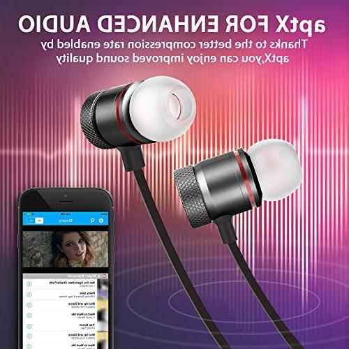 Bluetooth Wireless Magnetic Bluetooth for Running iPhone/Samsung/Android Smartphone/iPad