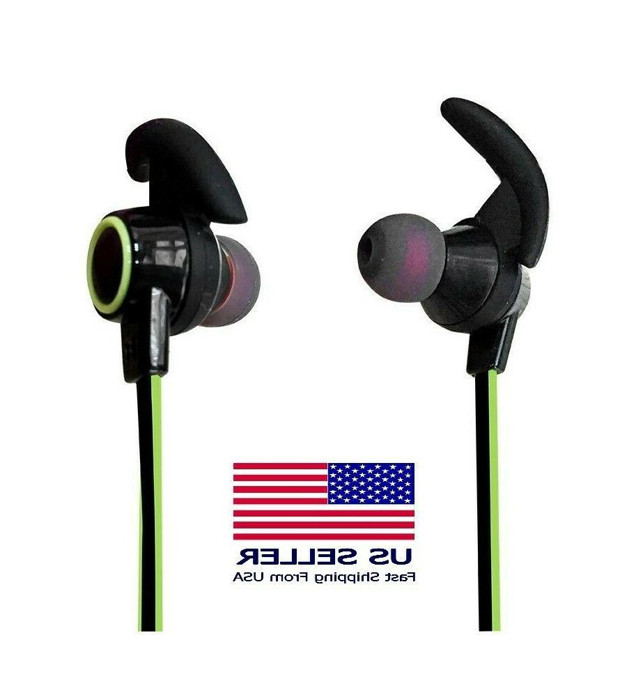 bluetooth headphones with mic wireless earbuds v4
