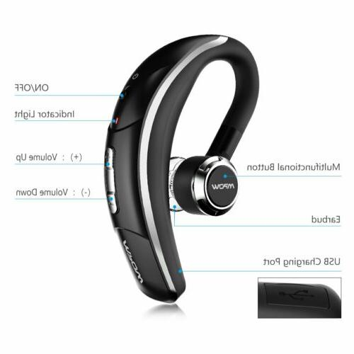 Mpow Bluetooth Stereo Earbuds Mic For