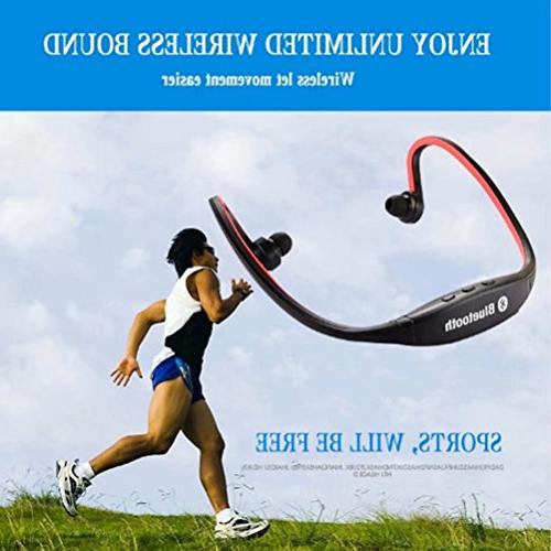 Bluetooth headset, CHATREEY S9 sports hands-free headset Bluetooth headset.