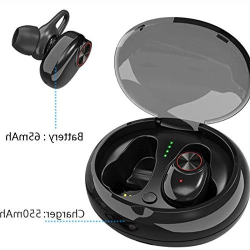 Ocamo Bluetooth Wireless with QI-Enabled Waterproof Long Lasting black