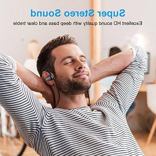 Bluetooth 8 Hours HD Stereo In Headsets for Gym Running Hiking etc.