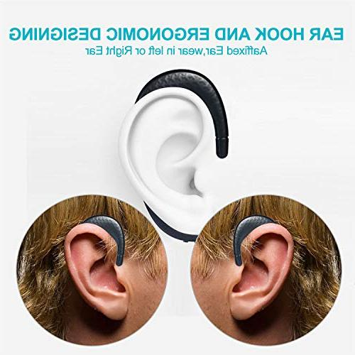 with Microphone, Non in Ear Earbuds, 7 iPhone Android Phones